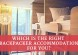 which backpacker accommodation is for you?