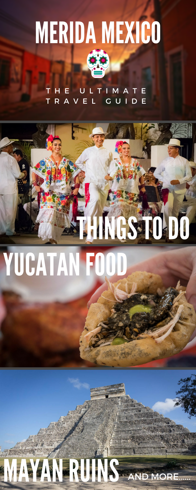 Merida Mexico: Things to do, Restaurants, Yucatan Food, Day trip Itineraries, Nightlife, Best Mayan Ruins, Merida Beaches, Markets, Best Hotels in Merida...