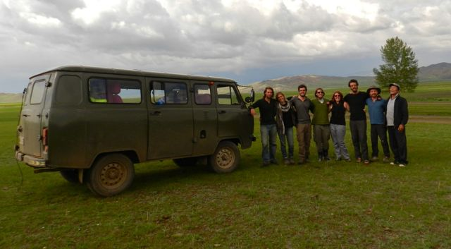 We all met via couchsurfing and embarked on a 9 day trip through Mongolia!