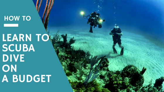 How to learn to scuba dive on a budget