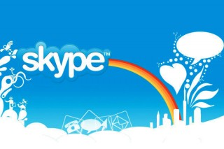 Essential Travel Apps: skype-rainbow