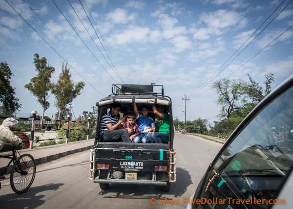 Amritsar fully loaded auto