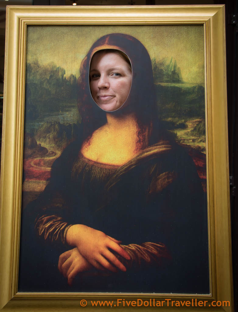 Meg is The Mona Lisa
