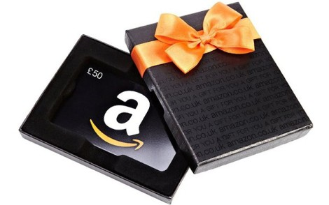 cool travel gifts 2015 - amazon gift card