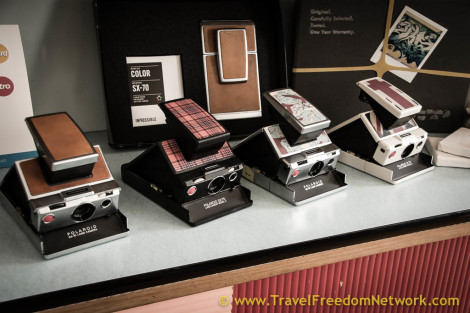 cool travel gifts 2015 - polaroid camera