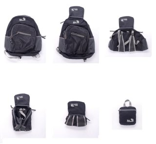 Cool Travel Gifts: foldable daypack