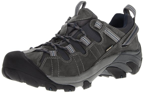 What are the best shoes for travel? Keen Men's Targhee II