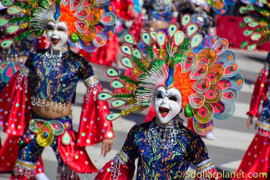 best places to backpack Masskara festival - Bacolod