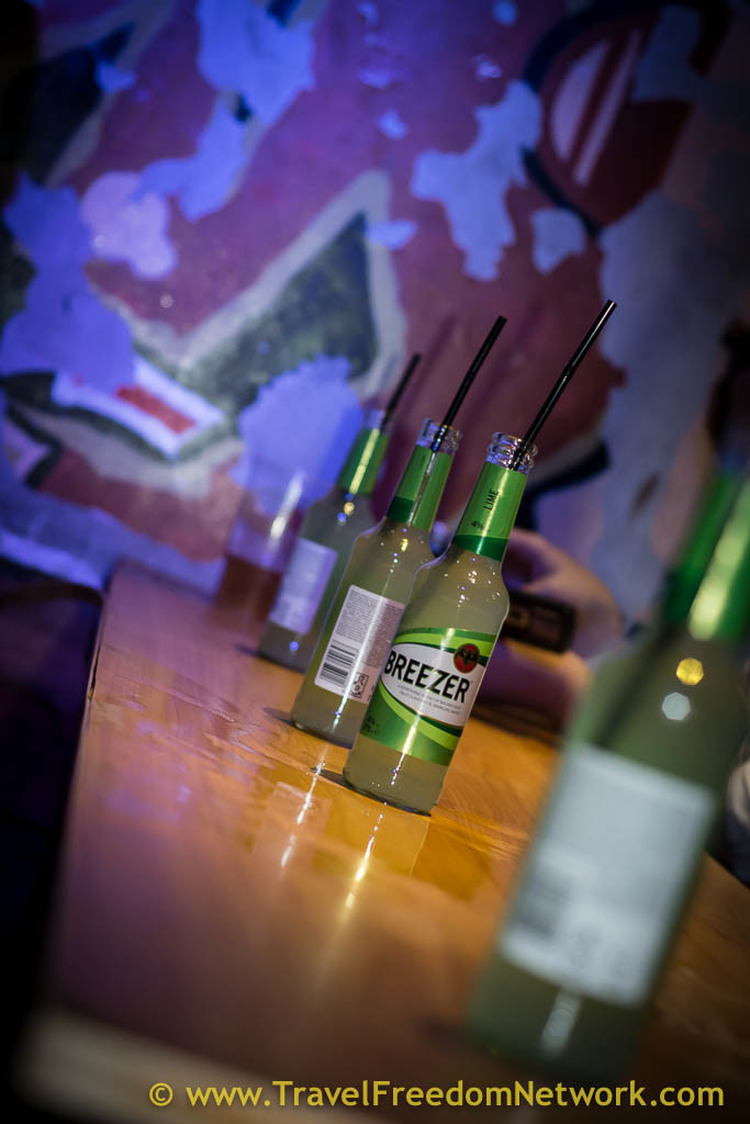 How to make friends at your hostel - buy a round of drinks