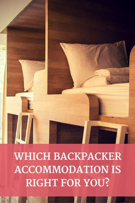 which backpacker accommodation is for you? When it comes to backpacking there are a ton more accommodation options to choose from. Choosing the right one for you comes down the way you want to travel. Simply to score the cheapest bed possible? Seek out a unique local experience? the accommodation you choose will determine the style of trip you have.
