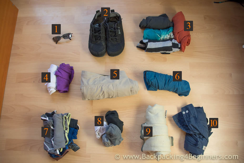Minimalist Packing: Ultimate Carry on packing list (Clothes)